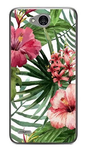 Foto Case LG X POWER 2 kwiaty tropikalne