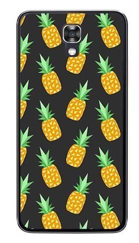 Foto Case LG X SCREEN ananasy czarne