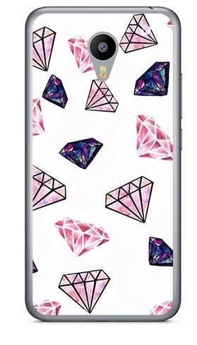 Foto Case Meizu M2 NOTE różowe diamenty