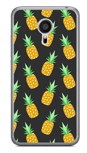Foto Case Meizu MX5 ananasy czarne