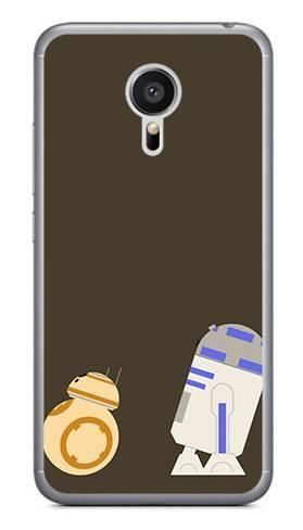 Foto Case Meizu MX5 roboty star wars