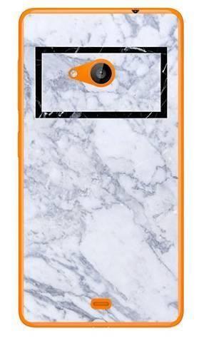Foto Case Microsoft Lumia 535 marmur prostokąt