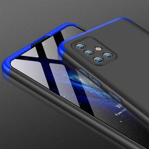 GKK 360 Protection Case etui na całą obudowę przód + tył Samsung Galaxy A71 czarno-niebieski