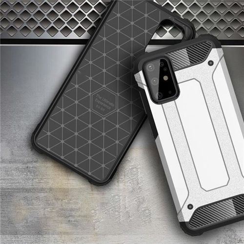 Hybrid Armor pancerne hybrydowe etui pokrowiec Samsung Galaxy S20 Ultra złoty