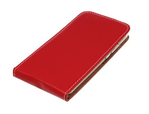 Kabura pionowa Rubber SAMSUNG A6 czerwona