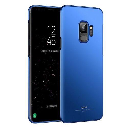 MSVII Simple ultracienkie etui pokrowiec Samsung Galaxy S9 G960 niebieski