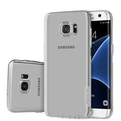 NILLKIN NATURE TPU Samsung Galaxy S6 EDGE szary