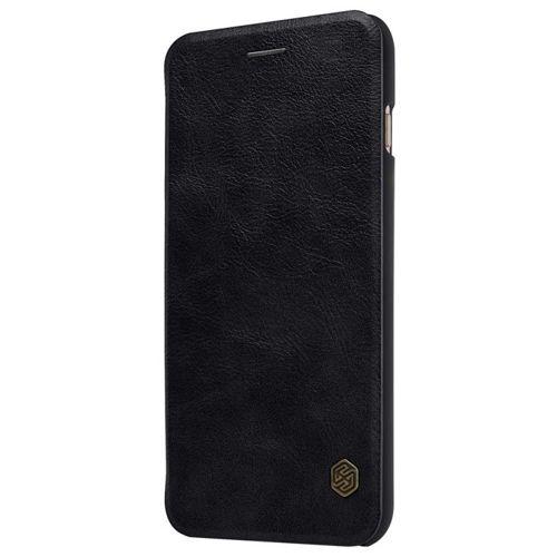 Nillkin Qin skórzana kabura etui iPhone 8 Plus / 7 Plus czarny