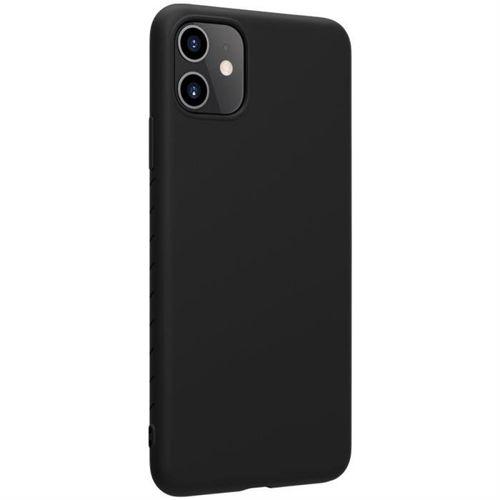 Nillkin Rubber elastyczne silikonowe etui pokrowiec iPhone 11 czarny
