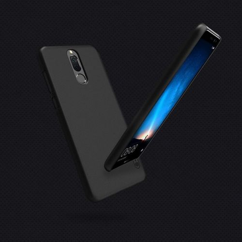 Nillkin Super Frosted Shield wzmocnione etui pokrowiec + folia Huawei Mate 10 Lite czarny