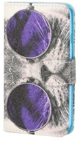 PORTFEL ART Alcatel Pop C9 kot w okularach
