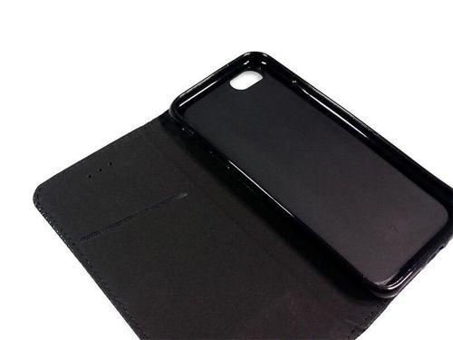 PORTFEL magnetyczny HTC Desire 19 PLUS czarny