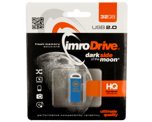 Pendrive 32GB IMRO ECO niebieski