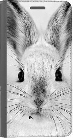 Portfel DUX DUCIS Skin PRO Czarno-biały zając na Xiaomi Redmi Note 5a