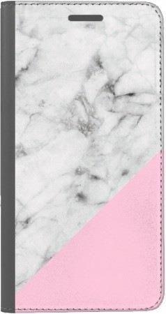 Portfel DUX DUCIS Skin PRO biały marmur z pudrowym na Huawei Honor 7x