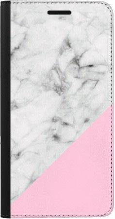 Portfel DUX DUCIS Skin PRO biały marmur z pudrowym na Samsung Galaxy A70