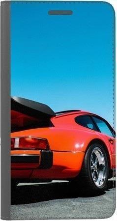 Portfel DUX DUCIS Skin PRO czerwony samochód na Xiaomi Redmi Note 5a