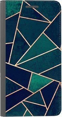 Portfel DUX DUCIS Skin PRO geometria turkus na Xiaomi Redmi Note 5a