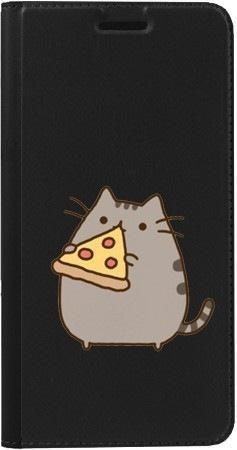 Portfel DUX DUCIS Skin PRO koteł z pizzą na Samsung Galaxy A70