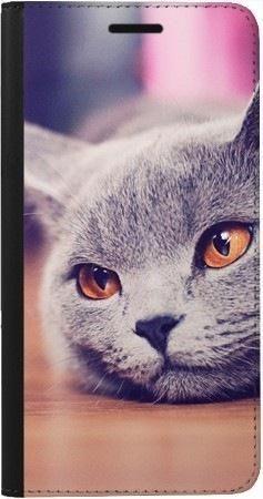 Portfel DUX DUCIS Skin PRO lazy cat na Samsung Galaxy A70