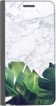 Portfel DUX DUCIS Skin PRO marmurowe liście na Huawei Honor 7x