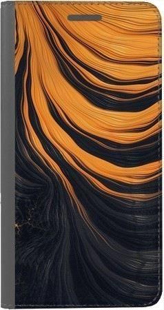 Portfel DUX DUCIS Skin PRO pomarańczowa lawa na Huawei Honor 7x