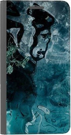 Portfel DUX DUCIS Skin PRO turkusowa woda na Huawei Honor 10