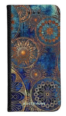 Portfel Wallet Case LG G8 ThinQ azteckie kształty