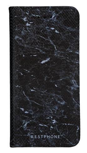 Portfel Wallet Case LG G8 ThinQ czarny marmur