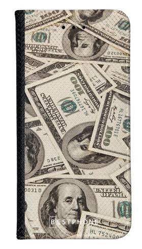 Portfel Wallet Case LG G8 ThinQ dollar bills
