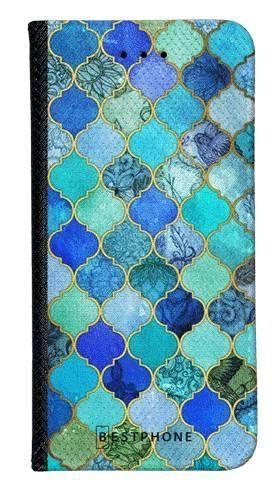 Portfel Wallet Case LG G8 ThinQ niebieski płytki