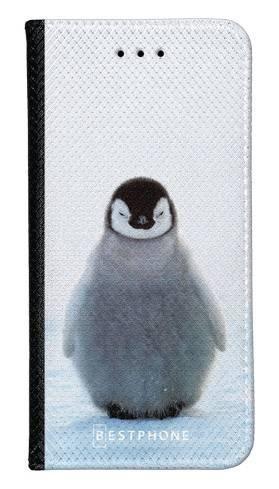 Portfel Wallet Case LG G8 ThinQ pingwinek