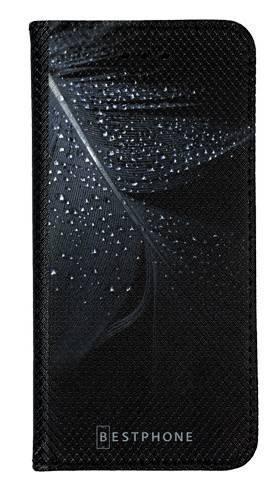 Portfel Wallet Case LG K40 czarne pióro