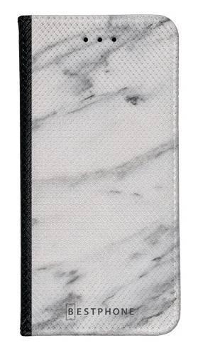 Portfel Wallet Case LG K40 szary marmur