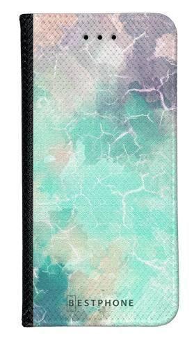 Portfel Wallet Case LG K40 zielony kamień