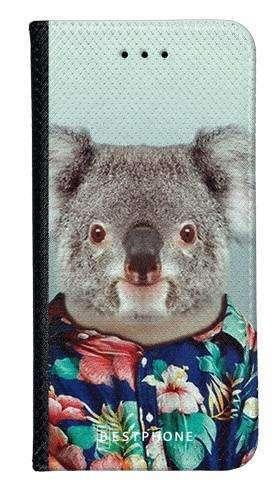 Portfel Wallet Case Motorola Moto G10 / Moto G30 koala w koszuli