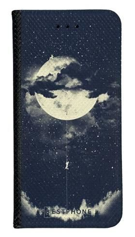 Portfel Wallet Case Samsung Galaxy A10e księżyc