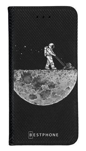 Portfel Wallet Case Samsung Galaxy A20e astronauta i księżyc