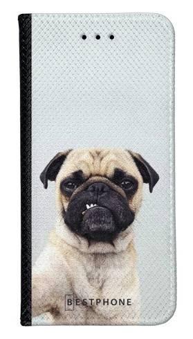 Portfel Wallet Case Samsung Galaxy A20e grumpy mops