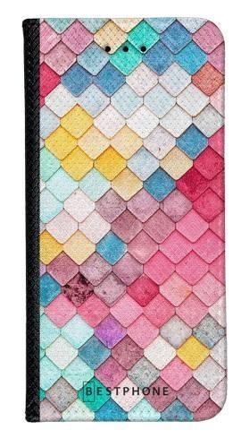 Portfel Wallet Case Samsung Galaxy A20e kolorowe płytki