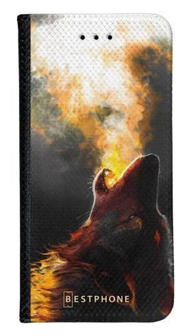 Portfel Wallet Case Samsung Galaxy A20e mroczny jeleń