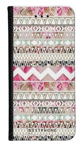 Portfel Wallet Case Samsung Galaxy A20e różowy aztec