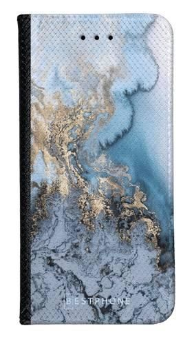 Portfel Wallet Case Samsung Galaxy A60 błękitny marmur