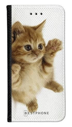 Portfel Wallet Case Samsung Galaxy A60 kociak