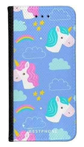 Portfel Wallet Case Samsung Galaxy Core Prime jednorożce