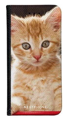 Portfel Wallet Case Samsung Galaxy Core Prime rudy kot