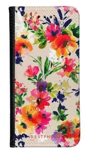 Portfel Wallet Case Samsung Galaxy Note 10 Pro malowane kwiaty