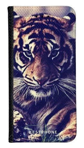Portfel Wallet Case Samsung Galaxy Note 10 Pro mroczny tygrys