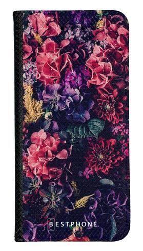 Portfel Wallet Case Samsung Galaxy Note 10 kompozycja kwiatowa