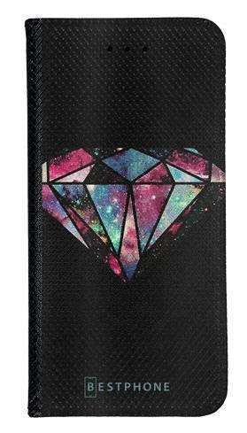 Portfel Wallet Case Samsung Galaxy Xcover 5 kolorowy diament
